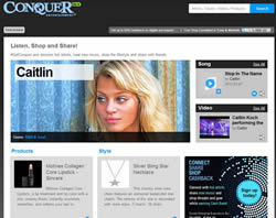 conquer website small Preloaded Websites