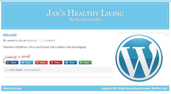 Jans Healthy Living