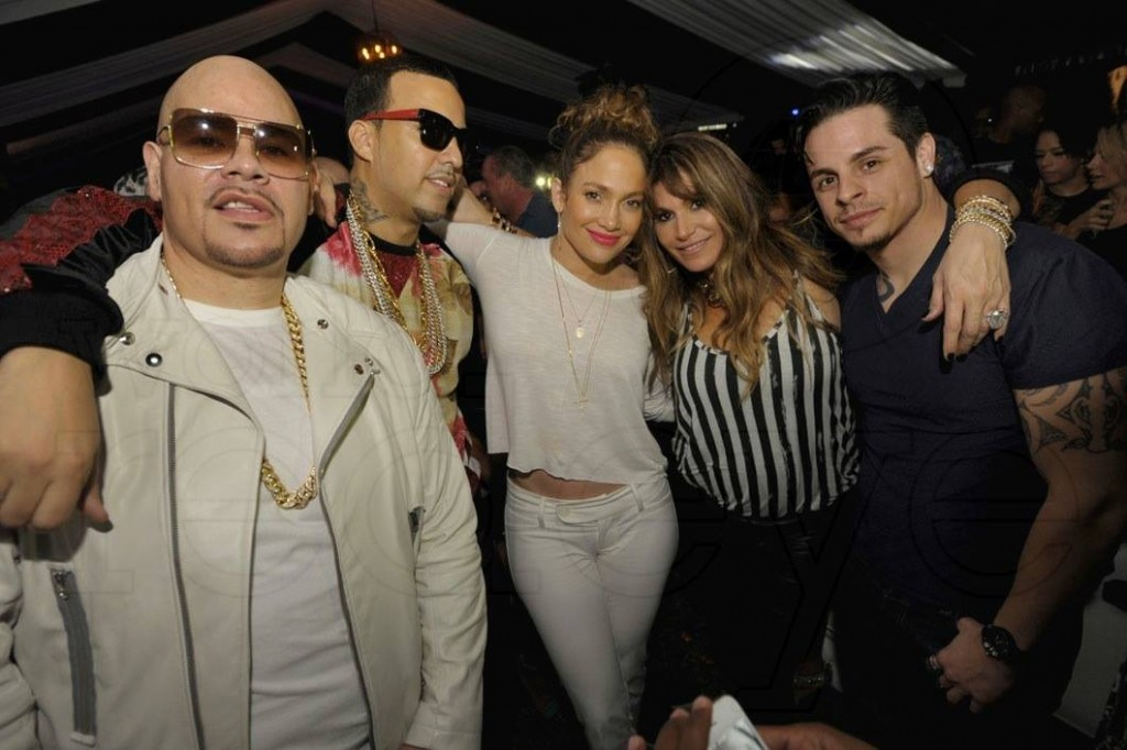 J lo fat joe and french montana internet franchise for Runway club miami