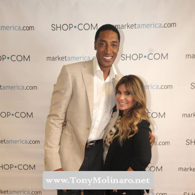 NBA Hall of Famer Scottie Pippen at our World Conference